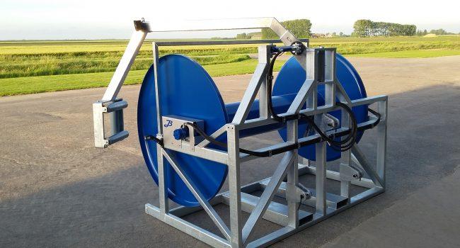 Slanghaspel V3 (met hydraulische slanggeleider)