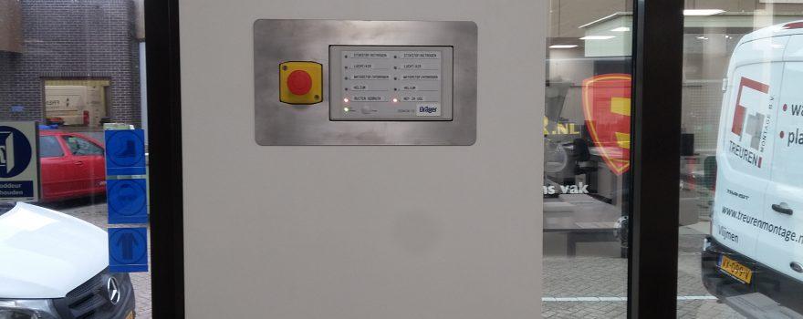 Afwerkplaat controlepaneel (Industrie)
